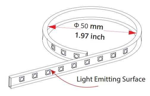 Light-Strip-Bending-Diameter