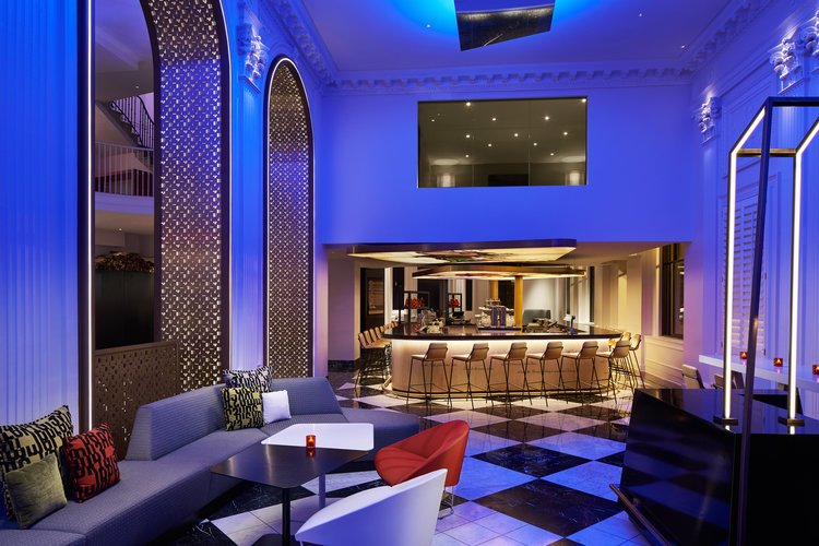 W Hotel Lobby (2)